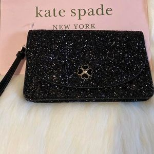AUTHENTIC Odette glitter Multifunction Wristlet